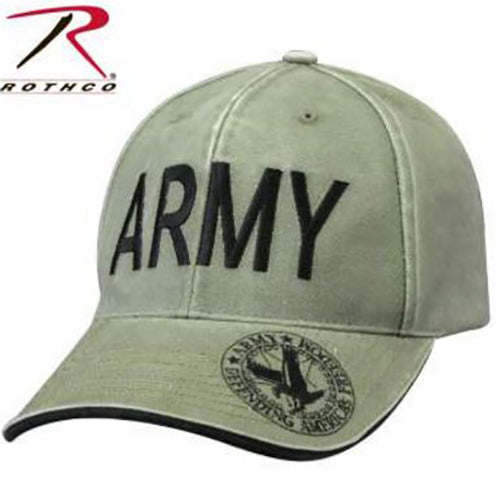 Rothco Vintage Deluxe Army Cap -Olive Drab-