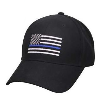 Rothco Men's Thin Blue Line Flag Low Profile Cap
