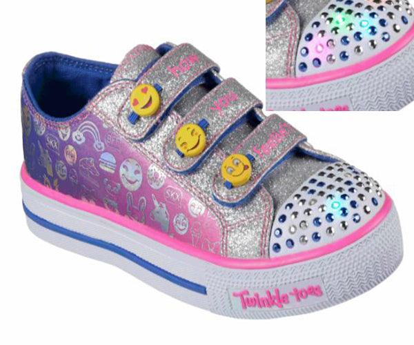 Skechers Girl's Shuffles -Expressionist-