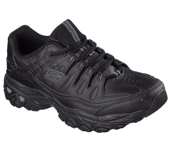 Skechers Men's Afterburn Memory Foam Lace-Up
