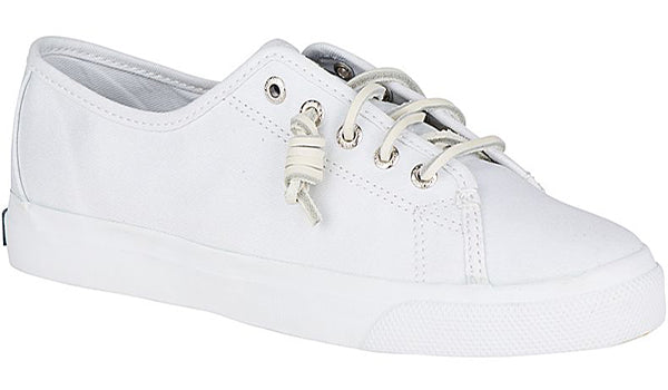 Sperry Women's Seacoast Canvas Shoe  -White-