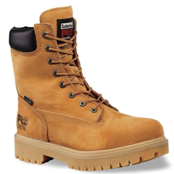 """Timberland PRO Men's  8"""" Steel Toe Work Boot -Wh"