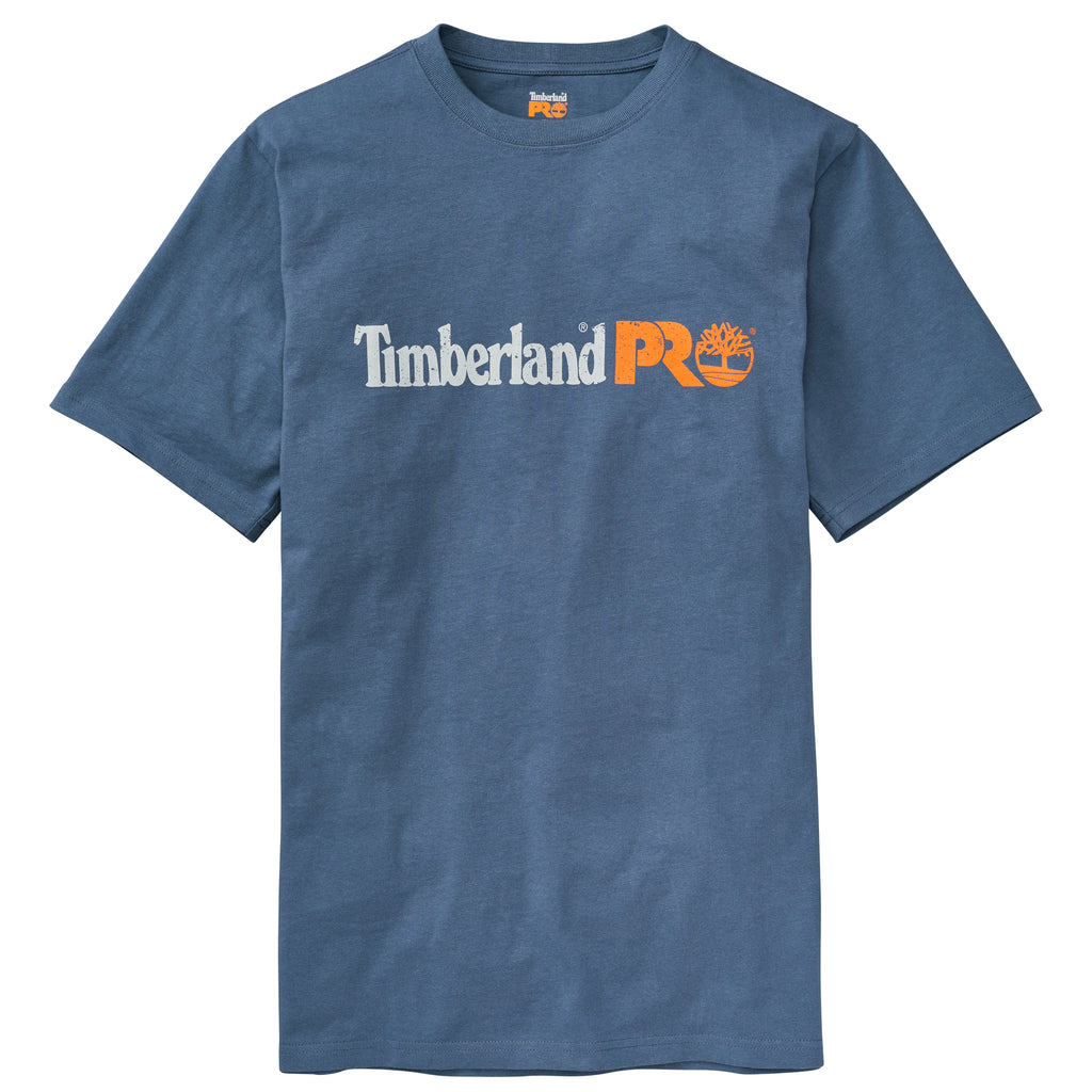 Timberland Pro Men's Cotton Core Tee -Vintage Indigo-