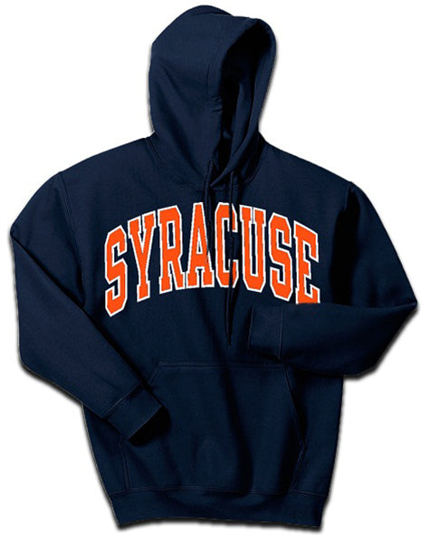 Syracuse Men's Pullover Classic Arch Hoodie
