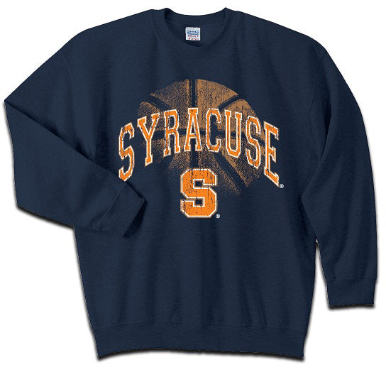 Syracuse Men's Basketball Distressed Sweatshirt