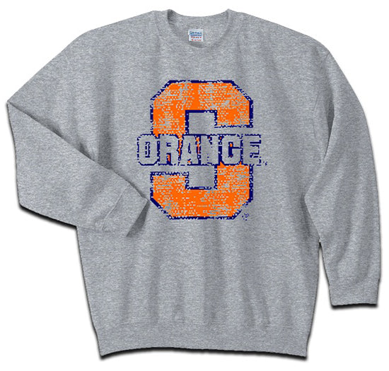 Syracuse Men's S Orange Thru Crew