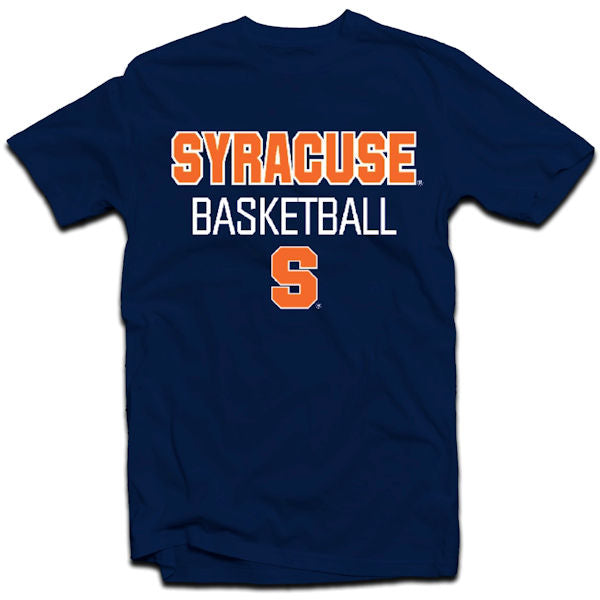 Syracuse Men's NCAA Basketball Written Tee