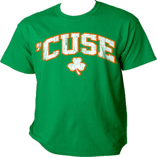 Syracuse Men's Cuse Shamrock Tee