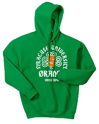 Syracuse Men's Shamrock Pull Over Hoodie