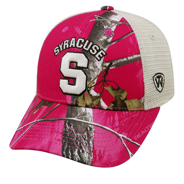 Syracuse Doe Cap Pink Real Tree -Pink Camo-