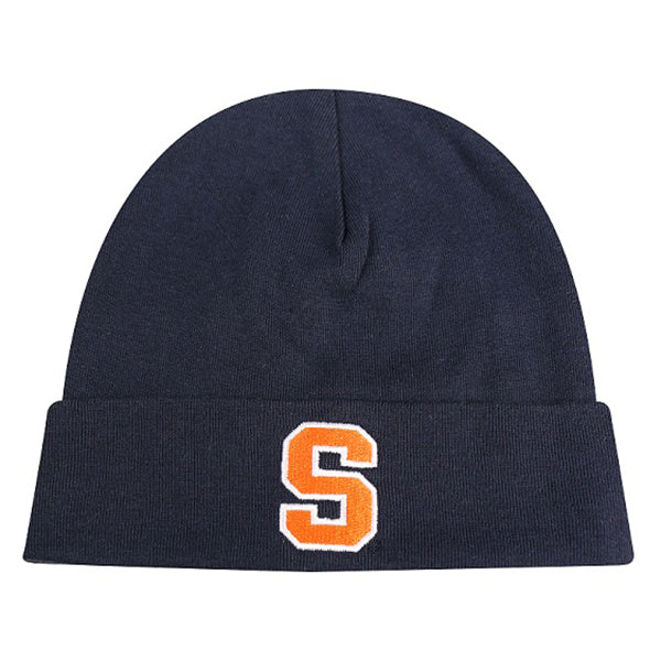 Syracuse Infant Knit Hat -Navy-