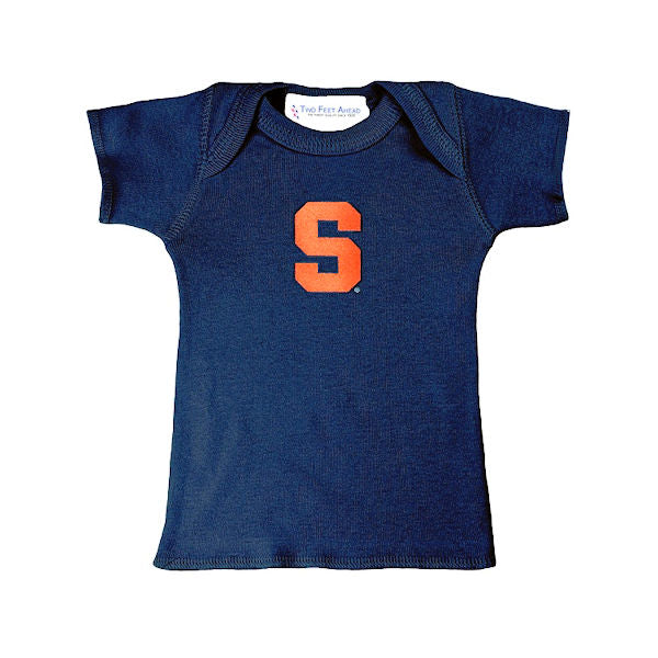 Syracuse Infant Block S T-Shirt -Navy-