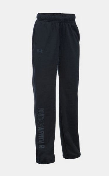 Under Armour Girl's Rival Training Pant  -Black-