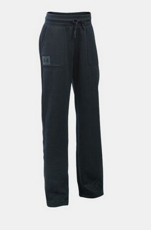 Under Armour Girl's Sweat Pants  -Black-