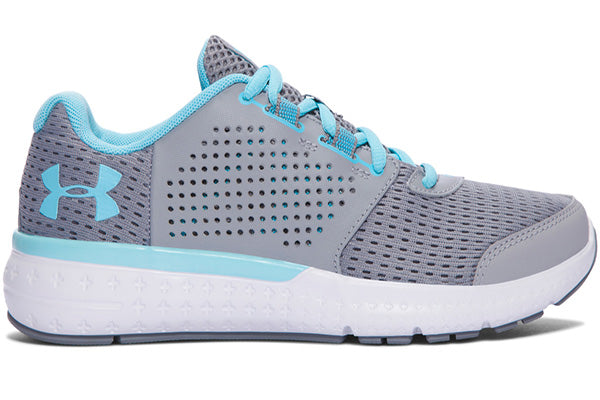 Under Armour Women's Micro G Fuel Sneaker -Gray-