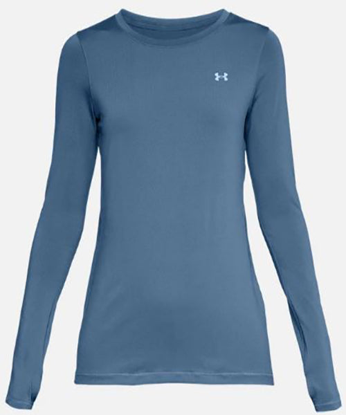 Under Armour Women's HeatGear Tee -White-