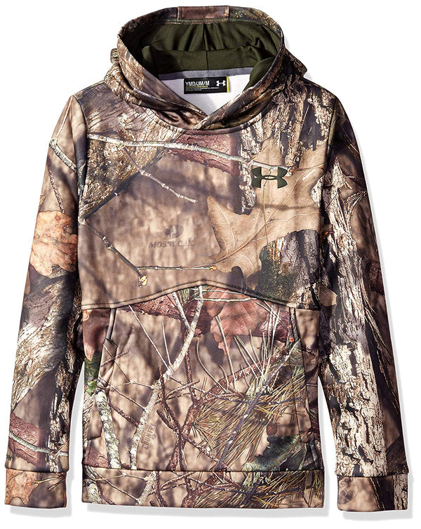 Under Armour Boy's Icon Camo Hoodie