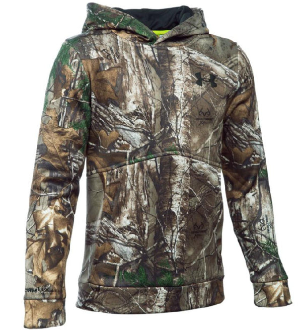 Under Armour Boy's Icon Realtree Camo Hoodie