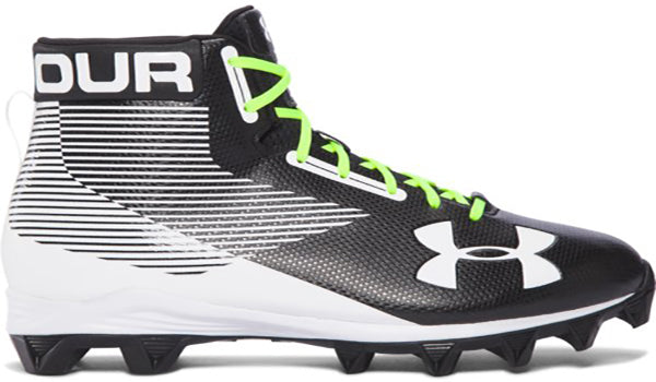 Under Armour Boy's RM Hammer Cleats -Black-