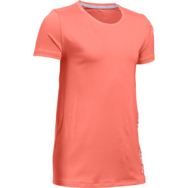 Under Armour Girl's Armour Shirt -Orange-