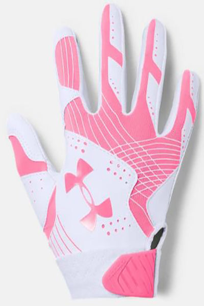 Under Armour Women's Radar Batting Glove -Pink-