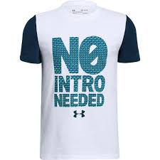Under Armour Boy's No Intro Needed Tee