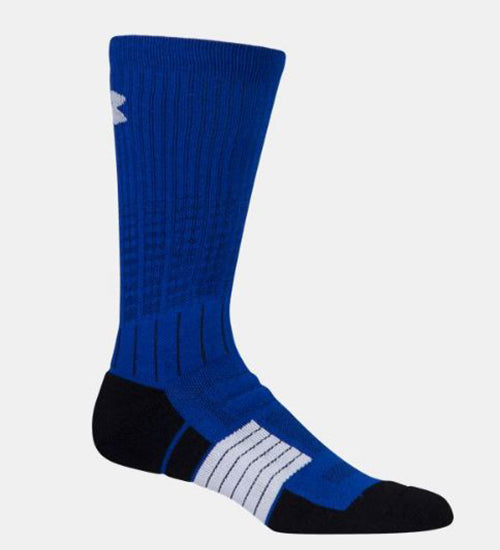 Under Armour Men's Unrivaled Crew Socks  -Royal-