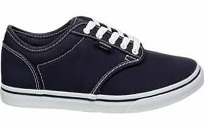 Vans Women's Atwood Shoes  -Navy/White-