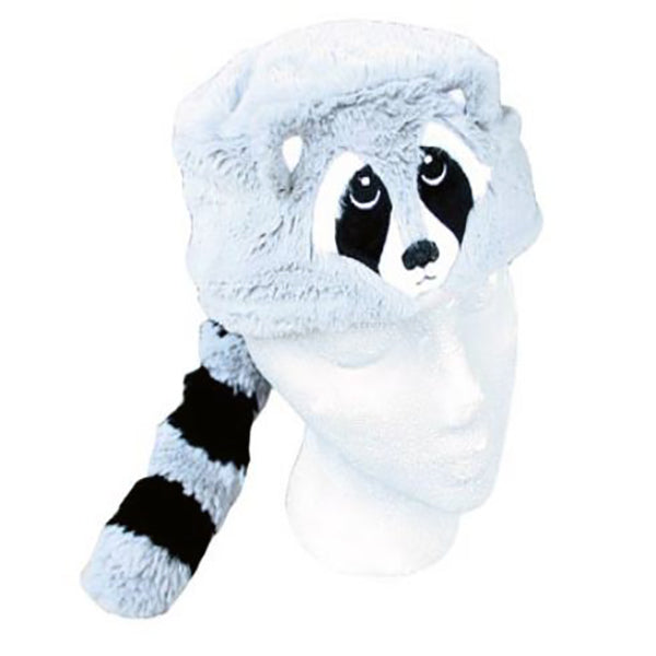 Wilcor Youth Lined Raccoon Hat