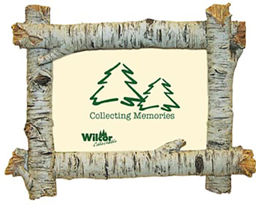 Wilcor Birch Logs Horizontal Picture Frame -6X4-