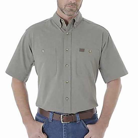 90fdc5c048a Wrangler Men s Riggs Workwear Chambray Work Shirt – HerbPhilipson s