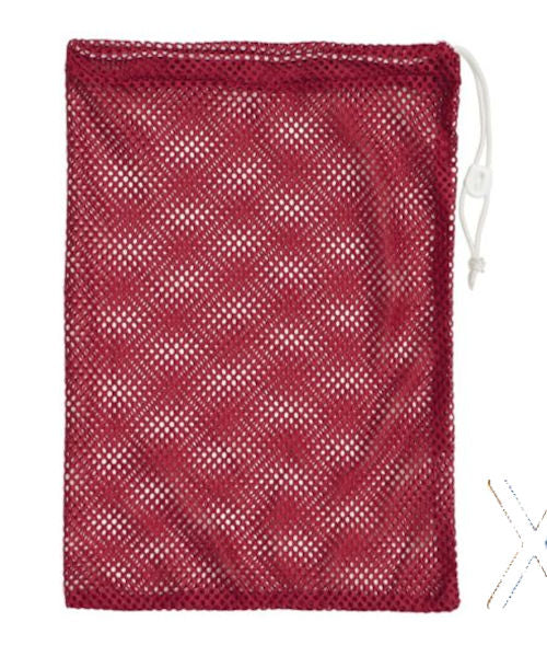 Champion Sports Mesh Equipment Bag 12 x 18 Red