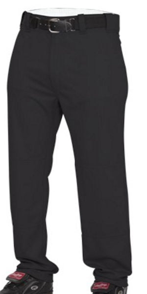 Rawlings Baseball Long Pants -Black-