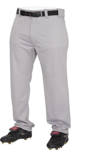 Rawlings Baseball Pant Long Youth -Gray-