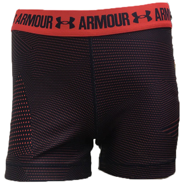 Under Armour Women's Printed Shorts -Midnight-