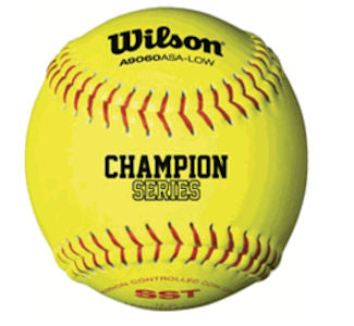 Wilson Fastpitch Softball 11in ASA Yellow