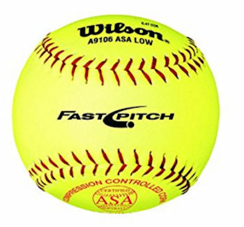 Wilson ASA Fastpitch Softball 12 Inch