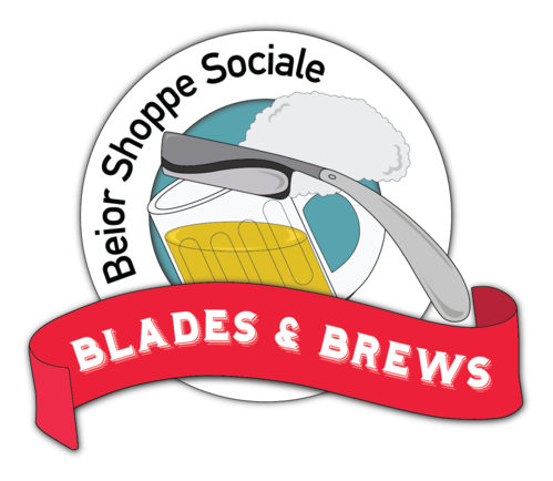 Blades and Brews Logo