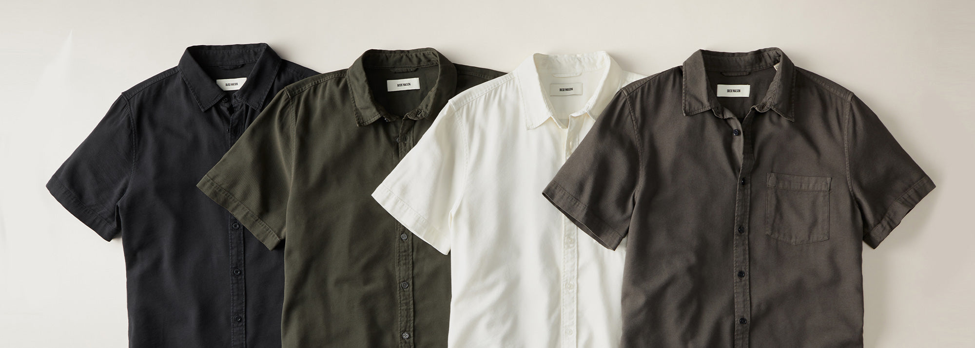 Buck Mason Short Sleeve Shirts