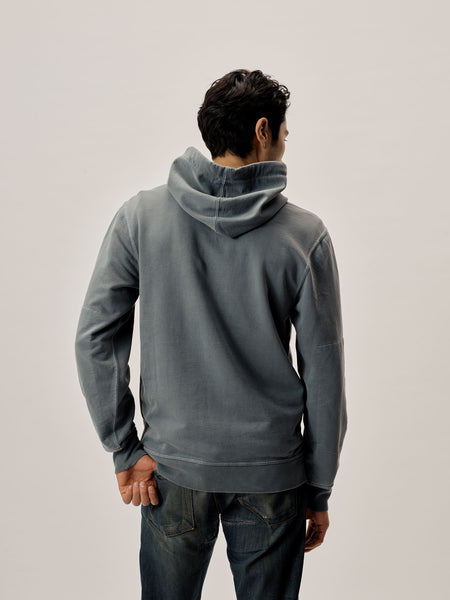 Seal Venice Wash Brushed Loopback Hooded Sweatshirt