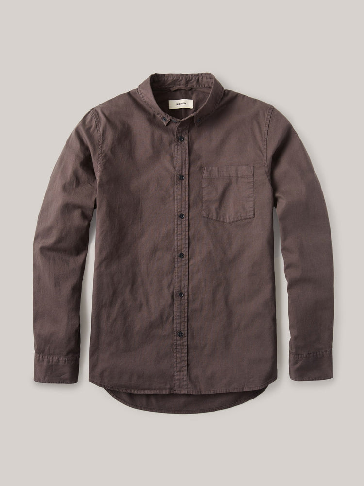 Clove Perfect Oxford One Pocket Shirt