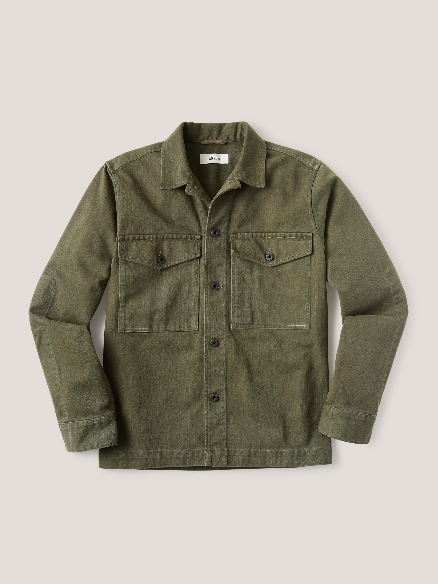 Buck Mason - Pike Bunker Twill Field Jacket