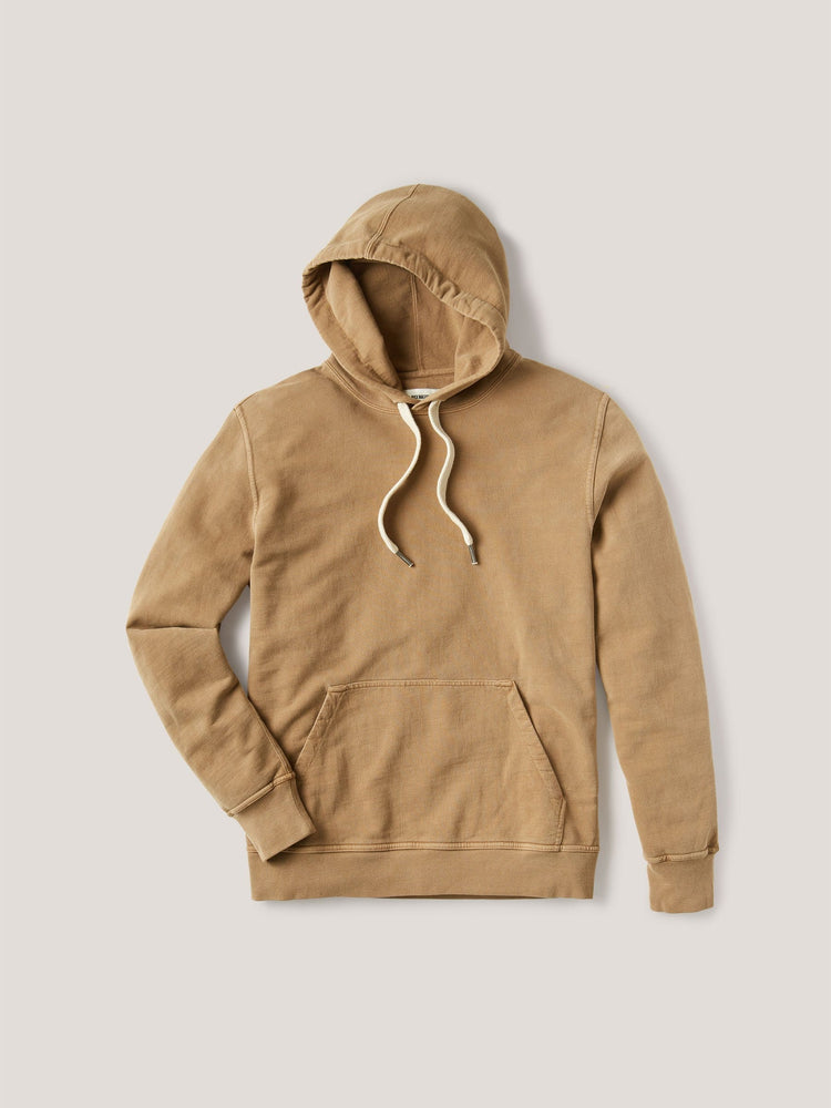 Copper Venice Wash Brushed Loopback Hooded Sweatshirt