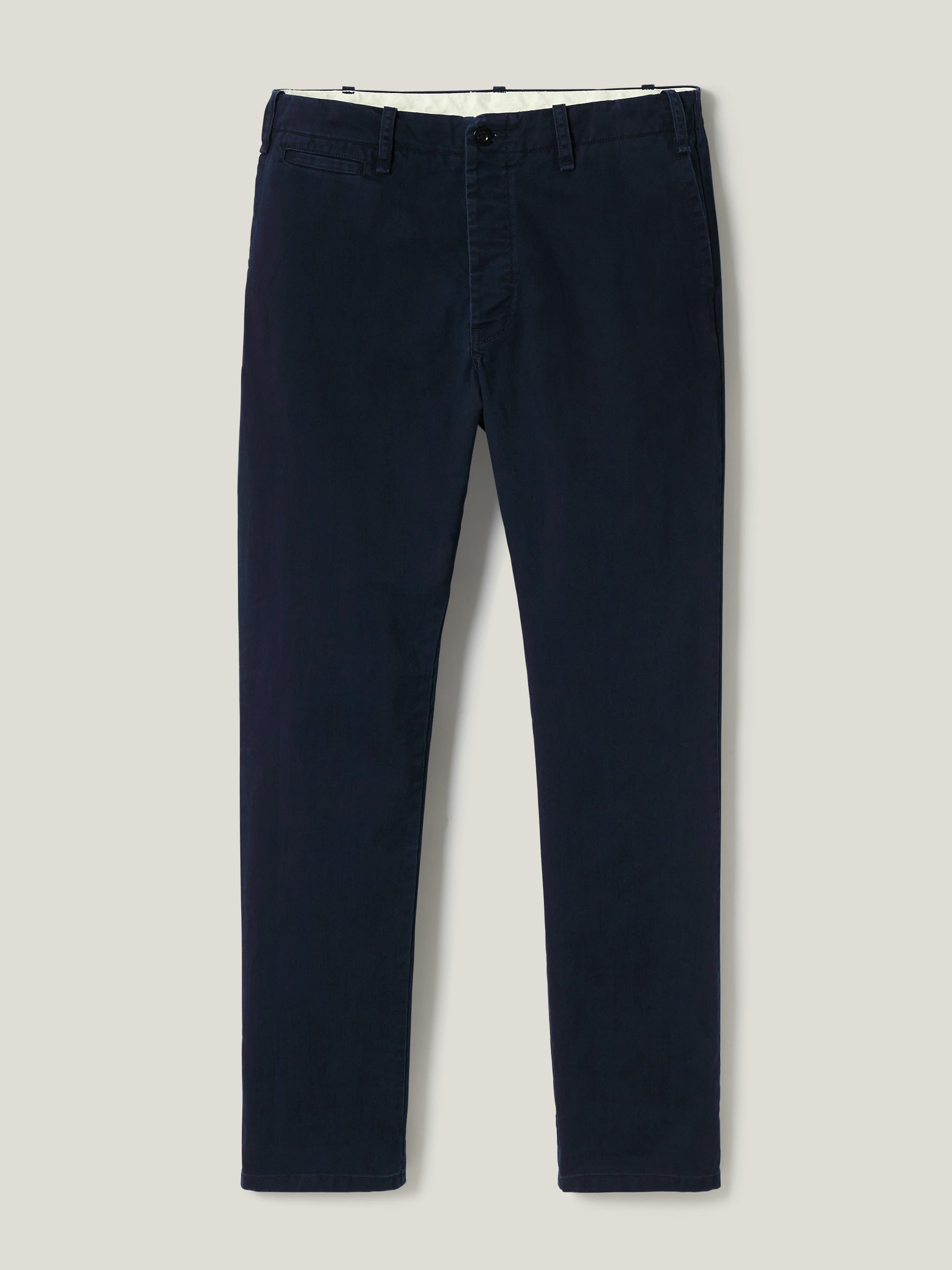 Buck Mason - Dark Navy Slub Twill Officer Pant