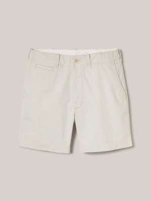 natural Slub Twill Officer Short
