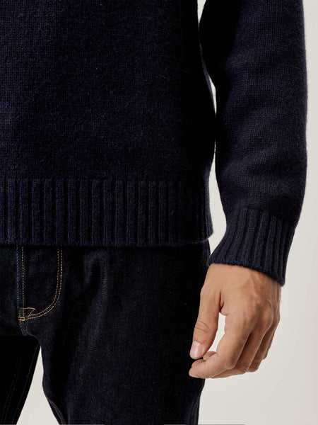Navy Vintage Herdsman Sweater