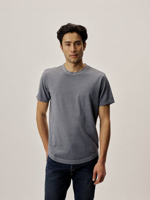 Seal Venice Wash Pima Curved Hem Tee