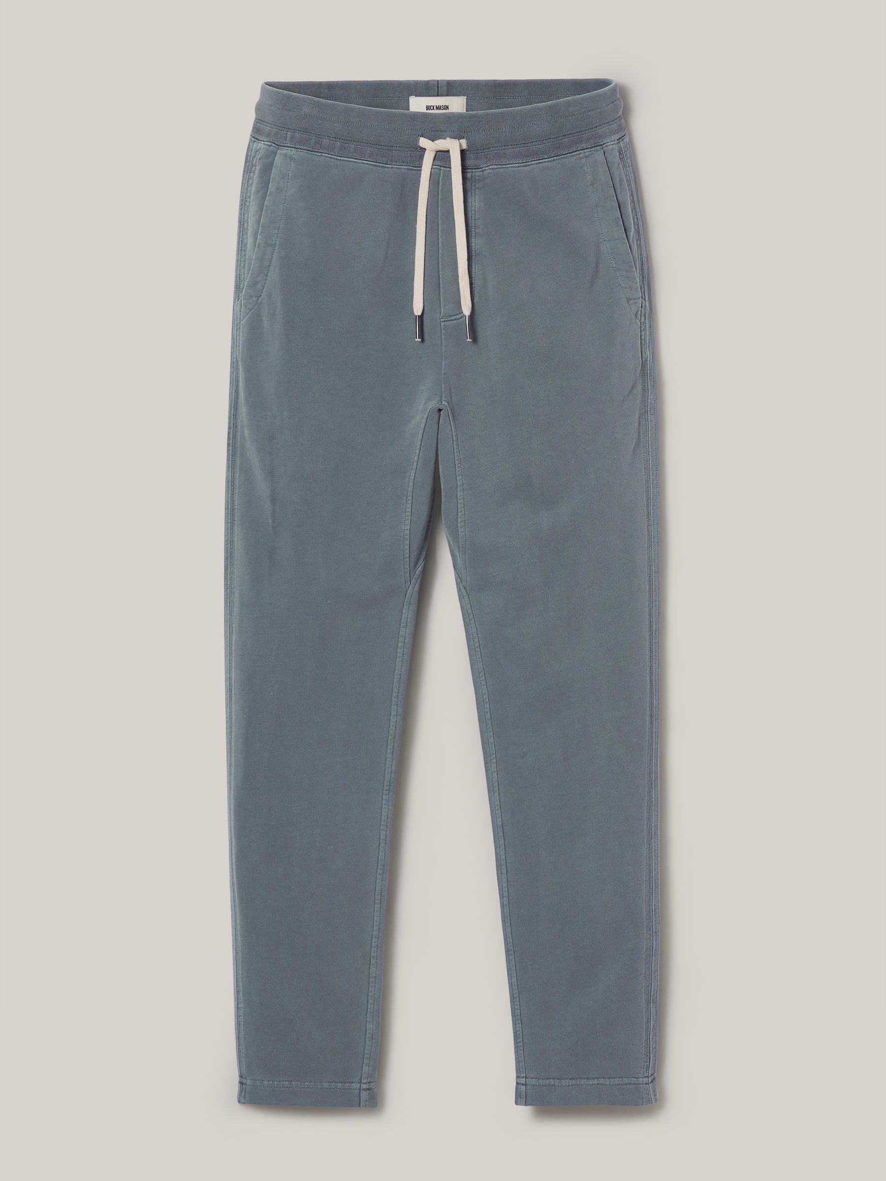 Buck Mason - Seal Venice Wash Brushed Loopback Trouser