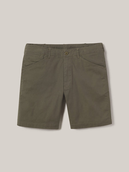 Turf Mojave Wash Vintage Canvas 8 Inch Walk Short