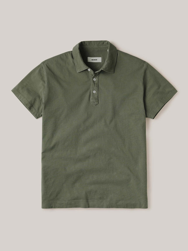 Hunter Venice Wash Sueded Cotton Polo